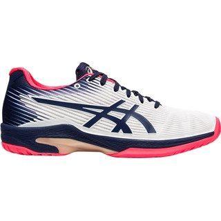 Asics Gel-Solution Speed FF (HC) Peacoat White Women's Tennis Shoes