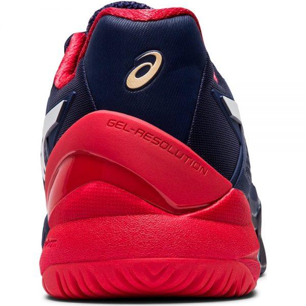 Asics Gel-Resolution 8 HC Peacoat/White Men's Shoe