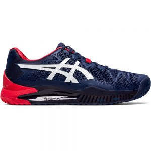 Asics Gel-Resolution 8 HC Peacoat/White Men's Shoe