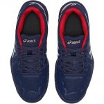 Asics Gel-Resolution 8 Peacoat/White/Red Junior Shoe