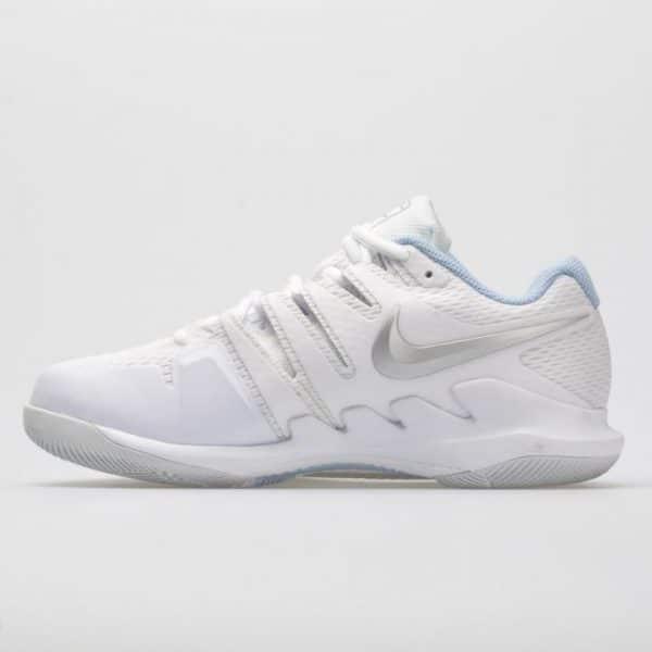 Nike Women's Air Zoom Vapor X White/Metallic Silver