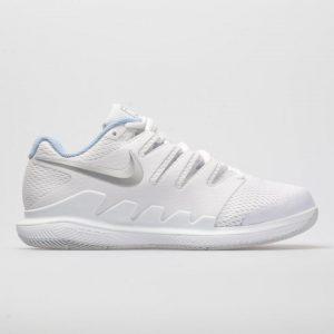 Nike tennis shoes for women Air Zoom Vapor X White/Metallic Silver