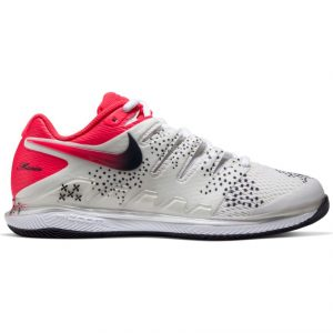 Nike Air Zoom Vapor X Summit White/Crimson tennis shoes for women