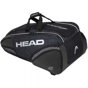 Head Djokovic 12R Monstercombi Black/Grey Bag
