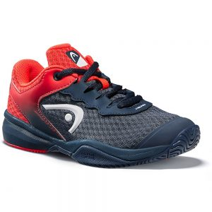 Head Sprint 3.0 Midnight Navy/Neon Red Junior Shoes