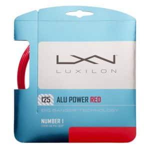 Luxilon ALU Power 125 Red Set