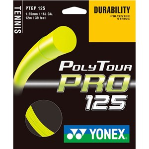 Yonex Poly Tour Pro 125 Yellow Set