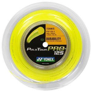 Yonex Poly Tour Pro 125 yellow 200m Reel