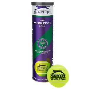 Slazenger Wimbledon All Court 4 ball Can