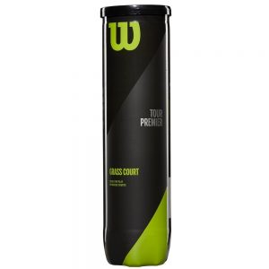Wilson Tour Premier Grass Court White 4 Ball can