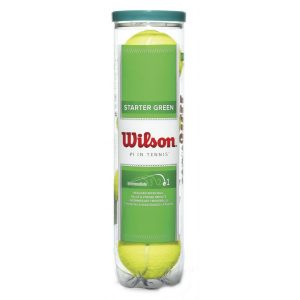 Wilson Starter Green Tennis Balls 4 Pack