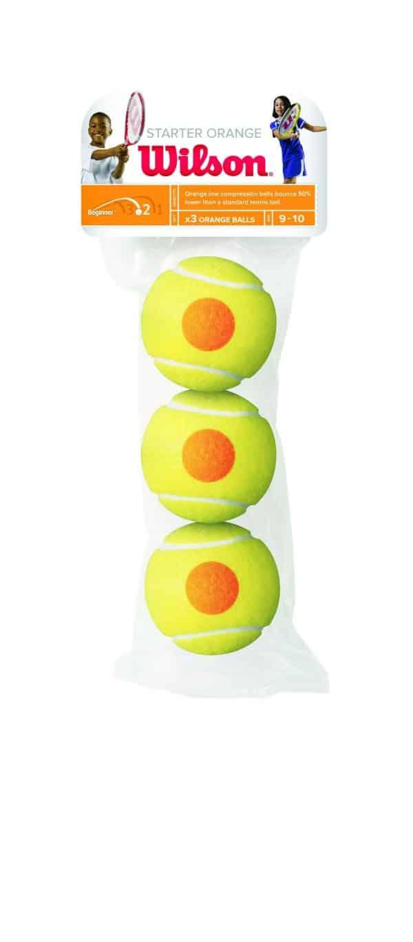 Wilson Starter Orange balls 3 Pack