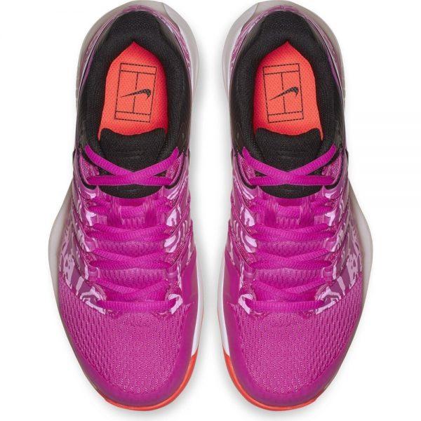 Nike Air Zoom Vapor X Women's Fuchsia Black Pink Tennis Shoes