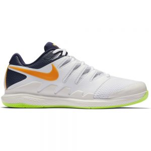 Nike Vapor X White/Orange/Lime Shoes