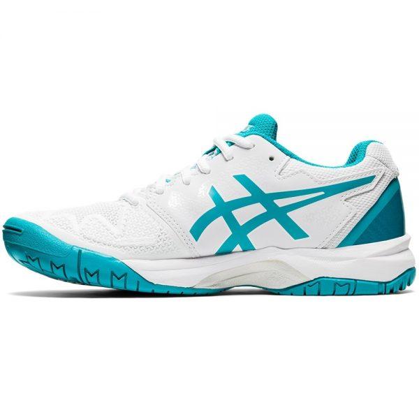 Asics Gel-Resolution 8 White Lagoon Junior Shoes