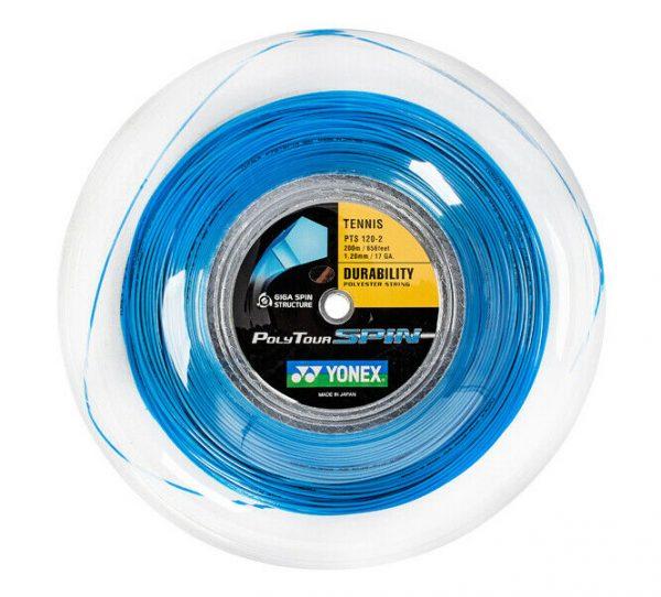 Yonex Poly Tour Spin 1.20 Blue Tennis Reel