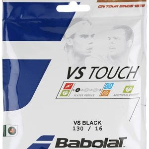 Babolat VS Touch Natural Gut 1.30 String Black Set