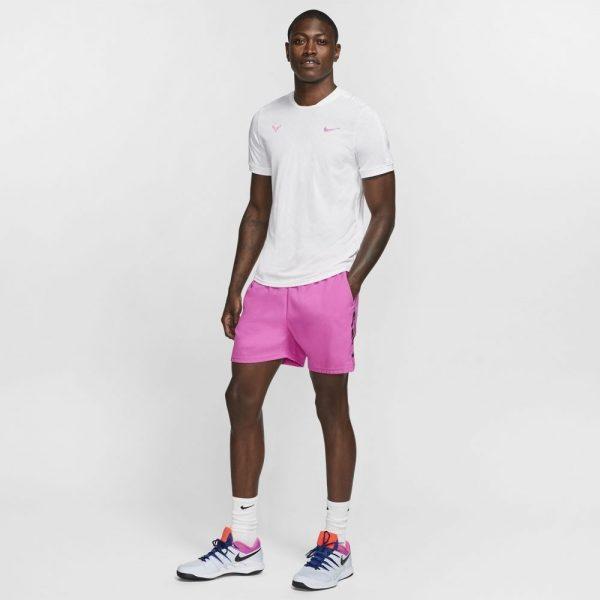 Nike Court AeroReact Rafa Top White