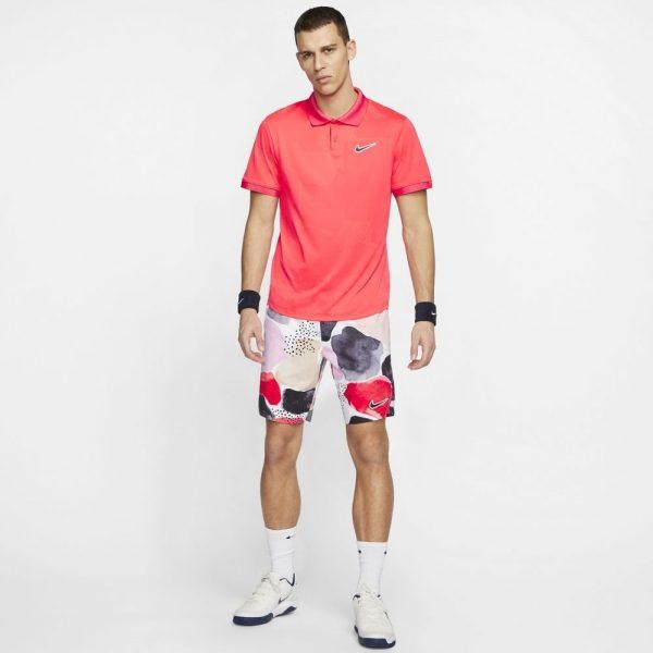 NikeCourt Breathe Advantage Laser Crimson/Off Noir