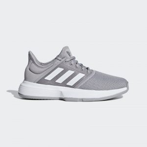 Adidas Gamecourt Granite/White Women's