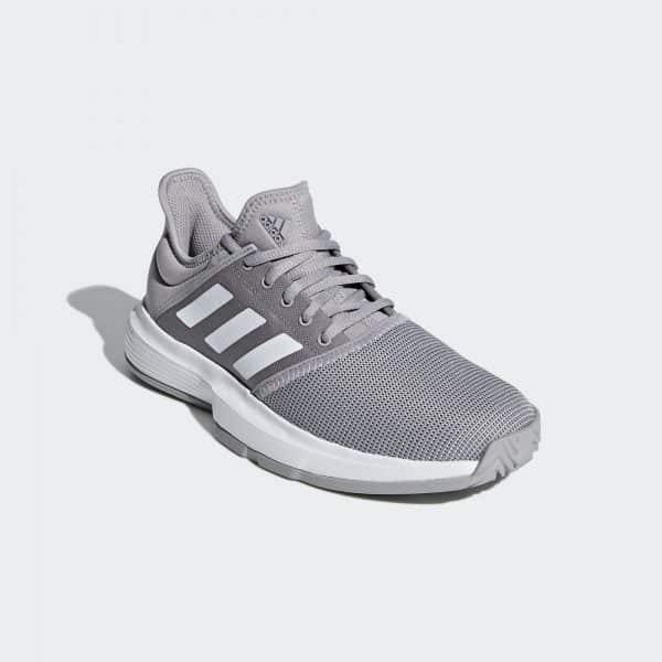 Adidas Gamecourt Granite/White Women's