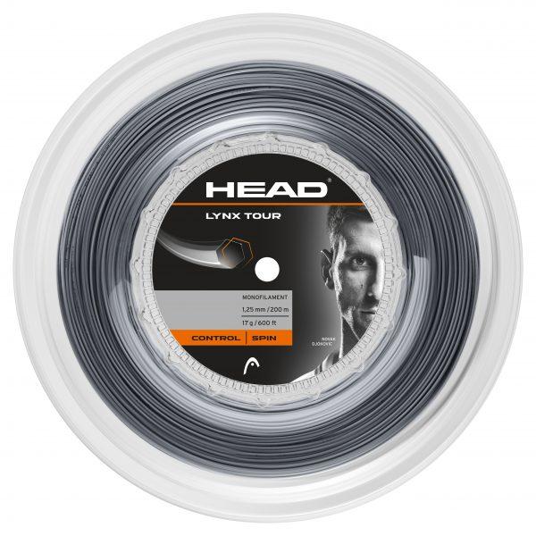 Head Lynx Tour Grey 125 String Reel