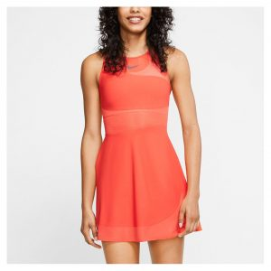 Nike Maria Crimson/Gridiron Women's Dress