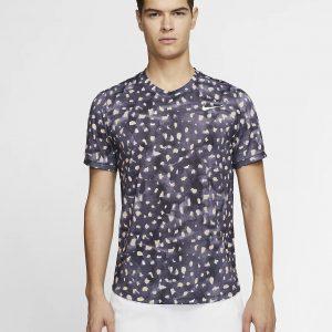 NikeCourt Challenger Gridiron/White T Shirt