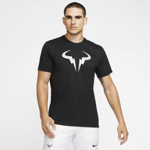 Nike Court Dri-FIT Rafa Black T Shirt