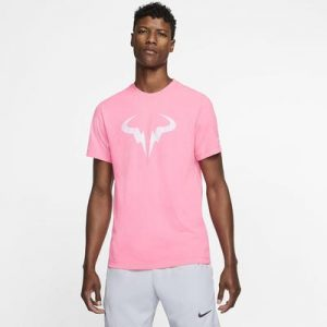 Nike Court Dri-FIT Rafa Pink T Shirt