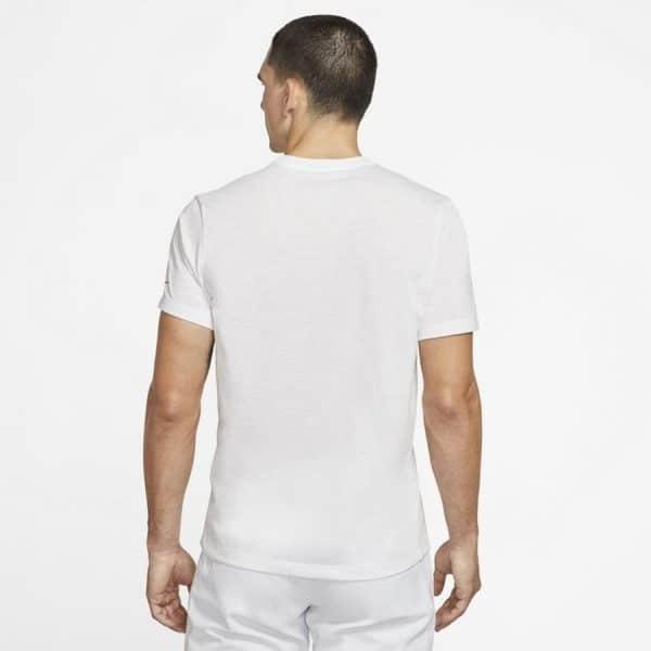 Nike Court Dri-FIT Rafa White T Shirt