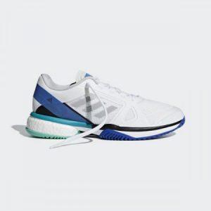 Adidas ASMC Barricade Boost White/Stone/Ray Blue Women's