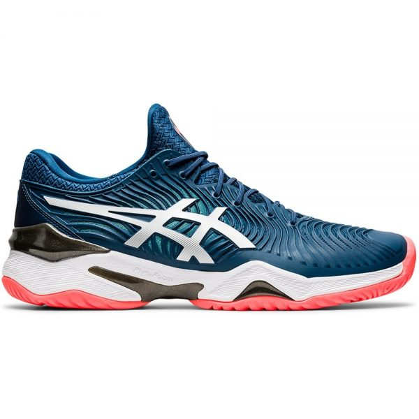 Asics Court FF 2 Mako Blue/White Men's Tennis Shoe