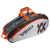 Volkl Tour Combi 6 Racquet Bag Charcoal/White/Lava
