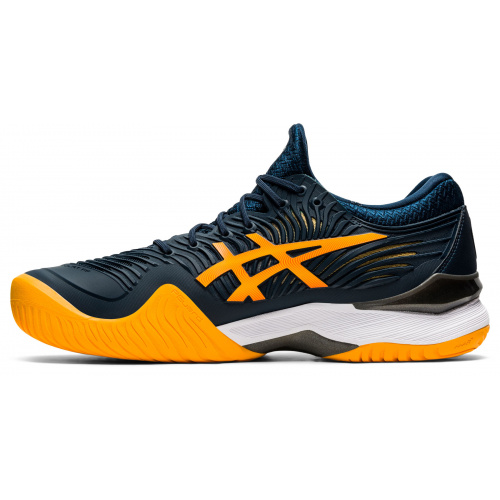 Asics Court FF 2 HC French Blue Amber Tennis Shoes
