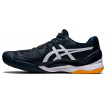 Asics Gel Resolution 8 HC French Blue White Tennis Shoes