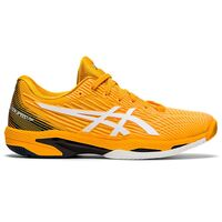Asics Solution Speed FF 2 HC Amber – White Tennis Shoes