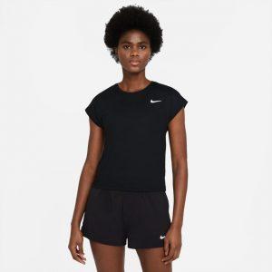Nike Court Dri-Fit Victory Tennis Top Black