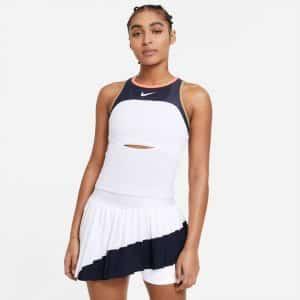 Nike Court Slam White/Obsidian/Bright Mango Women's Tank