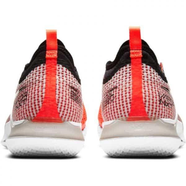 NikeCourt React Vapor NXT White Black Crimson Men's Tennis Shoes