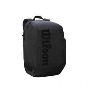 Wilson Super Tour Backpack Pro Staff Tennis Bag – Black