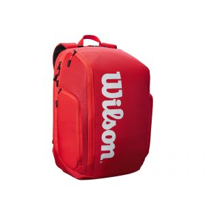 Wilson Super Tour Backpack Tennis Bag – Red