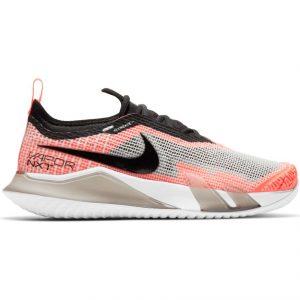NikeCourt React Vapor NXT White Black Mango Women's Tennis Shoes