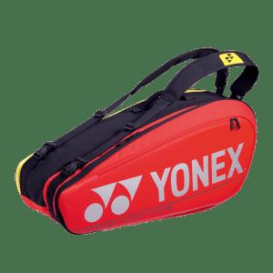 Yonex Pro 6 Racquet Red Tennis Bag