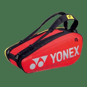 Yonex Pro 9 Racquet Red Tennis Bag