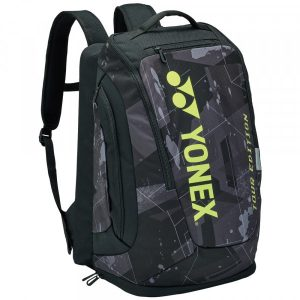 Yonex Pro Black Yellow Racquet Tennis Backpack