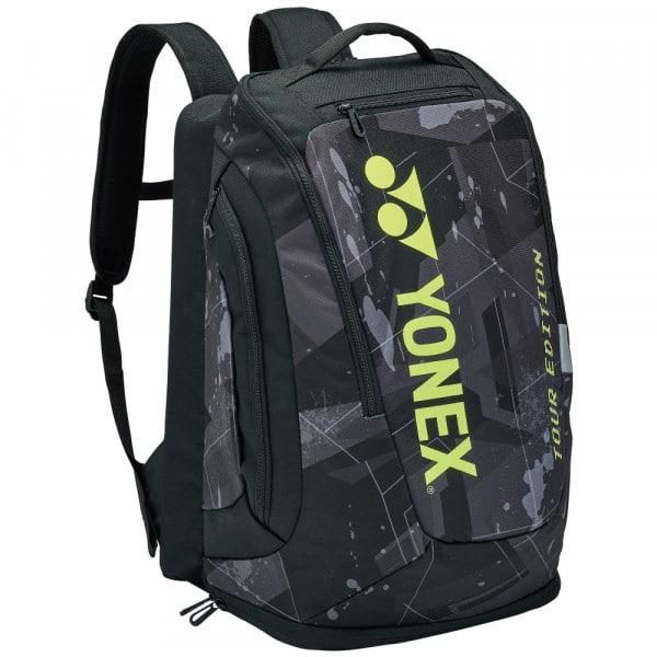 Yonex Pro Black Yellow Racquet Tennis Backpack