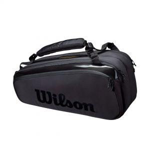 Wilson Super Tour Compartment 9 PK Pro Staff Black Tennis Bag