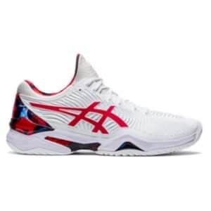 Asics Court FF Novak L.E. White/Red Classic Men's Tennis Shoes